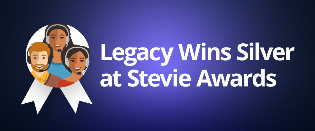Legacy.com Wins Silver at Stevie® Awards