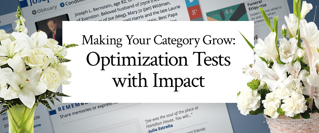 Making Your Category Grow: Optimization Tests with Impact