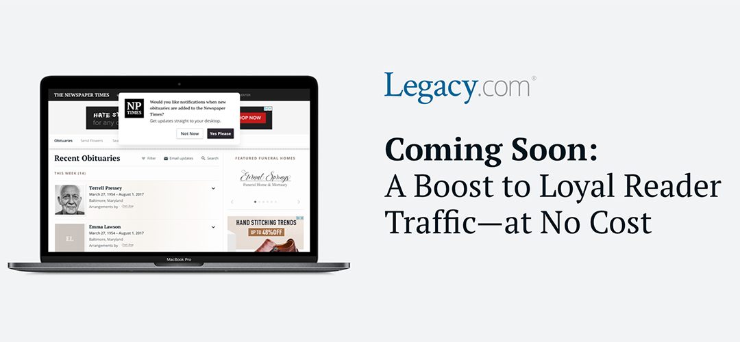 Coming Soon: A Boost to Loyal Reader Traffic—at No Cost